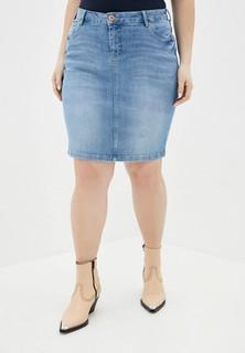 Юбка джинсовая Zizzi