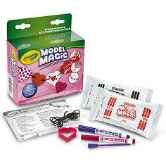 Набор волшебной массы для лепки Crayola Бусы из сердечек
