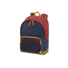 Рюкзак Samsonite, синий бургунди