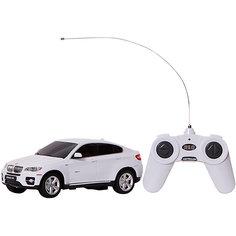 """Радиоуправляемая машина Rastar """"BMW X6"""" 1:24, белая"""