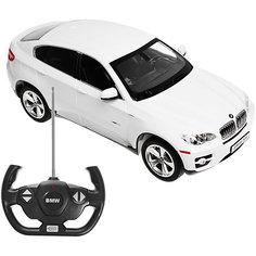 """Радиоуправляемая машина Rastar """"BMW X6"""" 1:14, белая"""