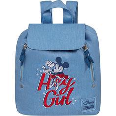 Рюкзак American Tourister by Disney Минни, голубой