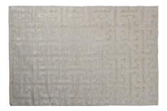 Ковер maroc oyester (garda decor) серый 200x1 см.