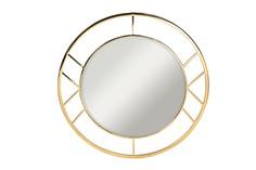 Зеркало круглое (garda decor) золотой 91x91 см.