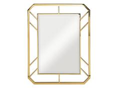 Зеркало (garda decor) золотой 71x91x2 см.