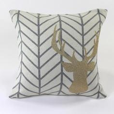 Подушка golden deer (enjoyme) мультиколор 45x45x1 см.