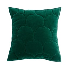 Чехол на подушку russian north (tkano) зеленый 45x45 см.