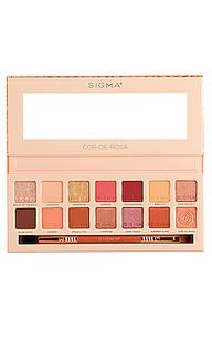 Палетка теней cor-de-rosa - Sigma Beauty