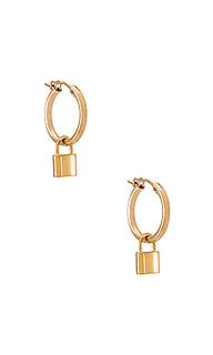 Серьги-кольца monaco - Joy Dravecky Jewelry