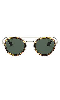 Солнцезащитные очки conceptual round - Prada
