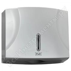 Диспенсер для бумажных полотенец puff 5120s, хром, abs-пластик 1402.995