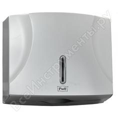 Диспенсер для бумажных полотенец puff 5125s, хром, abs-пластик 1402.984