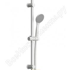 Душевой комплект dorff comfort ручной душ 1f, стойка 600 мм, белый d0108000wh