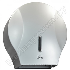 Диспенсер для туалетной бумаги puff 7125s, abs-пластик, хром 1402.988