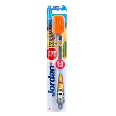 Jordan, Детская зубная щетка Step by Step 6-9, робот