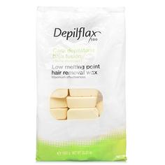 Depilflax, воск горячий 1 кг, хлопок