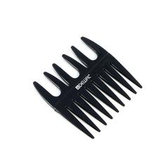 Dewal, Гребень «Эконом» моделирующий, двусторонний, черный, 8,5х8,5 см