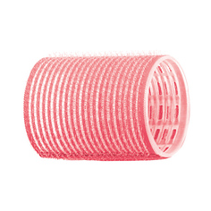 Dewal, Бигуди-липучки, розовые, 44 мм