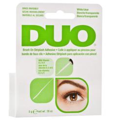Ardell, Клей для накладных ресниц с витаминами с кистью, прозрачный Duo Brush On Clear Adhesive, 5г