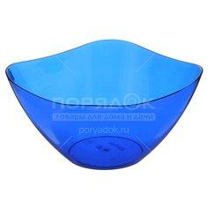 Салатник пластмассовый, 1000 мл, Ice ИК07810 синий Berossi