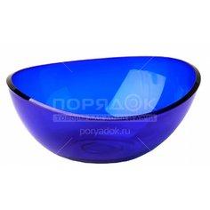 Салатник пластмассовый, 2500 мл, Кристалл М 1352 синий Idea