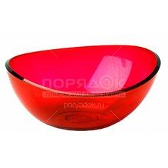 Салатник пластмассовый, 700 мл, Кристалл М 1350 красный Idea