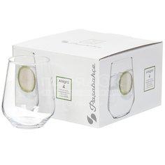 Стакан стеклянный Pasabahce Allegra Healthy Lifestyle 41536B, 4 шт, 425 мл