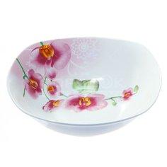 Салатник фарфоровый, 180 мм, Орхидея YQ1203/813627 Коралл