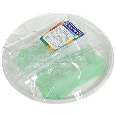 Набор одноразовой посуды (вилки, рюмки, тарелки, салфетки), Мистерия Праздник №1, 6 комплектов