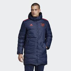 Удлиненная куртка Арсенал Seasonal Special adidas Performance