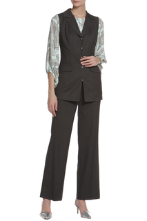 Костюм: жилет, брюки и блуза Adzhedo