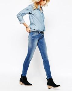 Джинсы слим Pepe Jeans Soho-Синий
