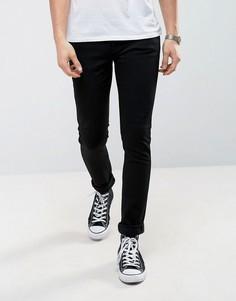 Черные джинсы скинни Nudie Jeans Co-Черный
