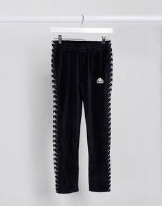 Черные спортивные брюки Kappa-Черный