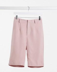 Длинные строгие шорты от комплекта Missguided-Фиолетовый