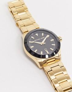Золотистые наручные часы Michael Kors Layton MK8816-Золотой