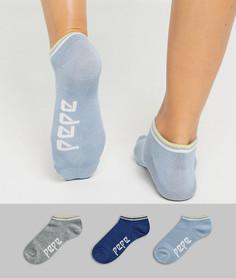 Набор из 3 пар спортивных носков Pepe Jeans-Мульти