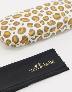 Футляр для очков с леопардовым принтом Sass & Belle-Мульти