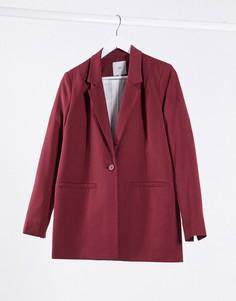 Пиджак прямого кроя Minimum-Коричневый