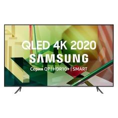"Телевизоры QLED телевизор SAMSUNG QE75Q70TAUXRU, 75"", Ultra HD 4K"