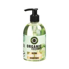Мыло для рук увлажняющее Planeta organica 300мл. органический огурец