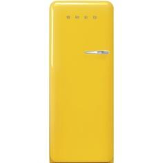 Холодильник Smeg FAB28LYW3 желтый