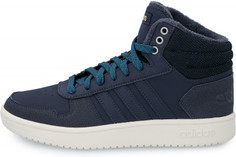 Кеды высокие женские Adidas Hoops 2.0, размер 37.5