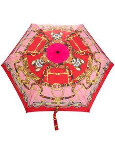 Moschino зонт Toy с принтом