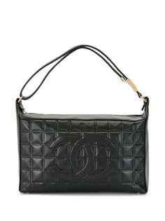 Chanel Pre-Owned стеганая сумка на плечо Choco Bar 2001-го года