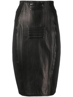 Jean Paul Gaultier Pre-Owned юбка-карандаш 1987-го года