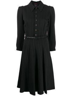 Jean Paul Gaultier Pre-Owned платье-рубашка 1990-х годов в тонкую полоску