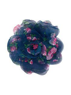 Philosophy Di Lorenzo Serafini брошь с цветочным принтом