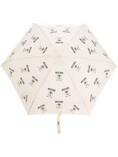 Moschino зонт Double Question Mark umbrella