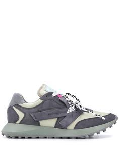 Off-White кроссовки с аппликацией